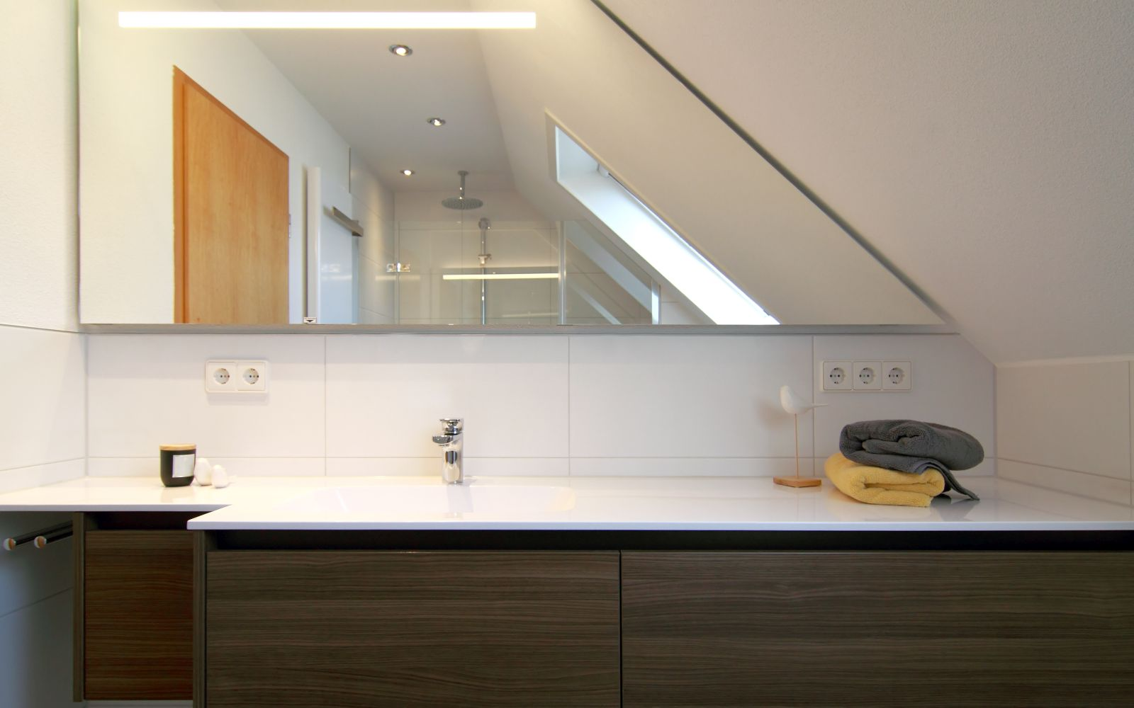 Referenzen Badezimmer Altersgerechtes Bad Im Dachgeschoss Stubler